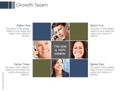 Growth Team Ppt PowerPoint Presentation Icon