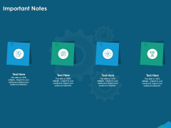 Guide For Managers To Effectively Handle Products Important Notes Ppt Outline Pictures PDF