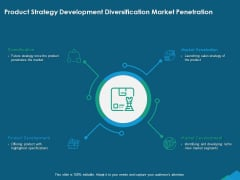 Guide For Managers To Effectively Handle Products Product Strategy Development Diversification Market Penetration Guidelines PDF