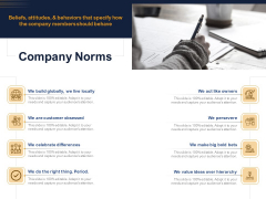 Guide Map Employee Experience Workplace Company Norms Ppt Layouts Slide Download PDF