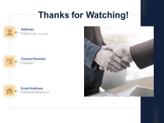 Guide Map Employee Experience Workplace Thanks For Watching Guidelines PDF