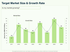 Guide To Overseas Expansion Plan For Corporate Entity Target Market Size And Growth Rate Ppt Infographics Infographics PDF