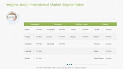 Guidebook For Business Insights About International Market Segmentation Rules PDF