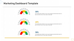 Guidelines Customer Conduct Assessment Marketing Dashboard Template Professional PDF