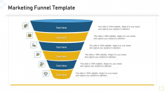 Guidelines Customer Conduct Assessment Marketing Funnel Template Graphics PDF