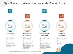 Gym And Fitness Center Business Plan Gym Startup Business Plan Proposal Plan Of Action Structure PDF