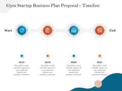 Gym And Fitness Center Business Plan Gym Startup Business Plan Proposal Timeline Diagrams PDF