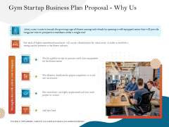 Gym And Fitness Center Business Plan Gym Startup Business Plan Proposal Why Us Rules PDF