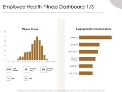 Gym Consultant Employee Health Fitness Dashboard Age Infographics PDF