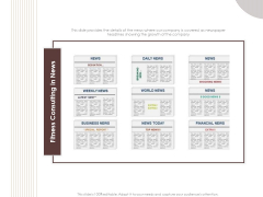 Gym Consultant Fitness Consulting In News Inspiration PDF