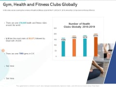Gym Health And Fitness Market Industry Report Gym Health And Fitness Clubs Globally Ppt PowerPoint Presentation Show Designs PDF