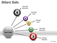 Game Billiard Balls PowerPoint Slides And Ppt Diagram Templates