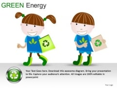Game Pieces Green Energy PowerPoint Slides And Ppt Diagram Templates