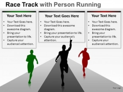 Game Race Person Running PowerPoint Slides And Ppt Diagram Templates