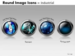 Gears Industrial Manufacturing PowerPoint Slides Ppt Templates