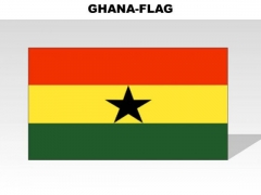 Ghana Country PowerPoint Flags