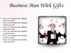 Gifts Man Business PowerPoint Presentation Slides S