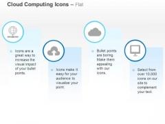 Global Data Upload Cloud Service Computer Ppt Slides Graphics