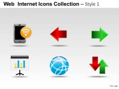 Globe Business Web Internet Icons PowerPoint Slides And Ppt Diagram Templates