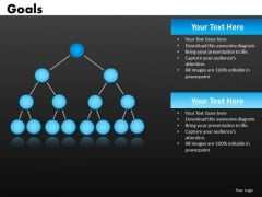 Goal Network Diagrams PowerPoint Templates Ppt Slides
