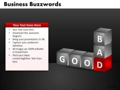 Good Bad PowerPoint Ppt Templates