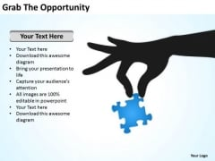 Grab The Opportunity Ppt Outline For Business Plan PowerPoint Templates