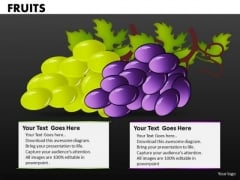Grapes PowerPoint Templates And Fruits Ppt Slides