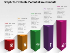 Graph To Evaluate Potential Investments PowerPoint Templates