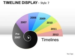 Graphic Timeline Chart PowerPoint Slides Ppt Templates
