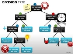 Graphical Display Decision Tree PowerPoint Slides And Ppt Templates