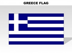 Greece Country PowerPoint Flags