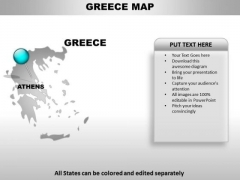 Greece Country PowerPoint Maps