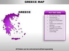 Greece PowerPoint Maps