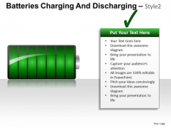Green Energy 3d Batteries PowerPoint Slides And Ppt Diagram Templates