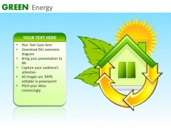 Green Energy Consumption Home PowerPoint Ppt Templates Ppt Slides