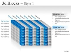 Group 3d Blocks 1 PowerPoint Slides And Ppt Diagram Templates