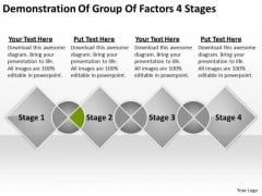 Group Factors 4 Stages Ppt Nonprofit Business Plan Template PowerPoint Slides