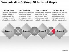 Group Factors 4 Stages Ppt Professional Business Plan Writers PowerPoint Templates
