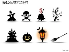 Group Halloween Icons PowerPoint Slides And Ppt Diagram Templates
