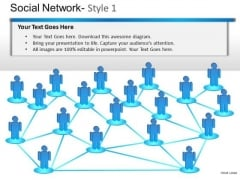 Group Social Network Ppt PowerPoint Slides And Ppt Diagram Templates