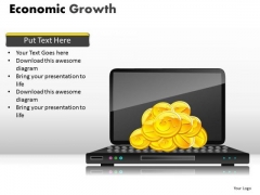 Growing Online Revenues PowerPoint Ppt Templates