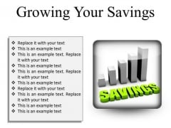 Growing Your Savings Future PowerPoint Presentation Slides S