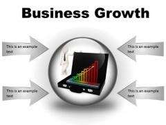 Growth Business PowerPoint Presentation Slides C