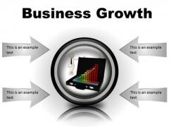 Growth Business PowerPoint Presentation Slides Cc