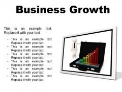 Growth Business PowerPoint Presentation Slides F