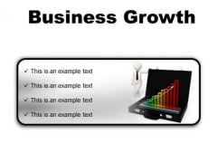 Growth Business PowerPoint Presentation Slides R