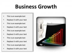 Growth Business PowerPoint Presentation Slides S