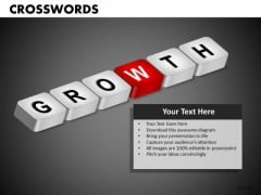 Growth Crosswords PowerPoint Templates