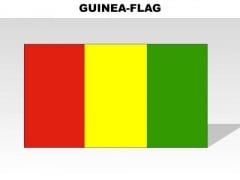 Guinea Country PowerPoint Flags