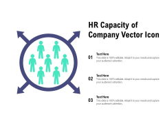 HR Capacity Of Company Vector Icon Ppt PowerPoint Presentation Ideas Layout Ideas